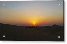 Al Ain Desert 15 Acrylic Print