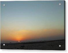Al Ain Desert 2 Acrylic Print