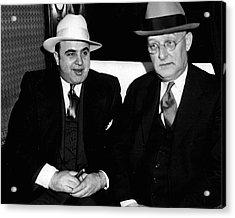 Al Capone Mafia Acrylic Print by Retro Images Archive