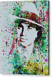 Al Capone Watercolor Acrylic Print