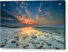 Acrylic Print featuring the photograph Al Hamra Sunset by Robert  Aycock