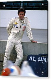 Al Unser At Indy Acrylic Print