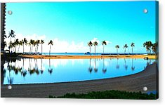 Peaceful Reflections Acrylic Print