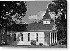 Alabama Church Acrylic Print by Kimberly Saulsberry