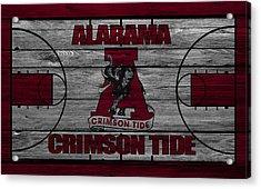 Alabama Crimson Tide Acrylic Print