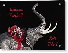 Alabama Football Roll Tide Acrylic Print
