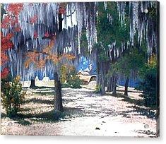 Alabama Fort Jackson Acrylic Print by Beth Parrish