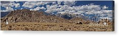 Alabama Hills And Eastern Sierra Nevada Mountains Acrylic Print by Peggy Hughes