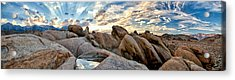 Alabama Hills Sunset Acrylic Print by Cat Connor
