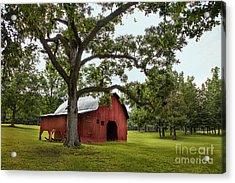 Alabama Red Barn  Acrylic Print
