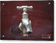 Acrylic Print featuring the photograph Alambic Tap by Lynn England
