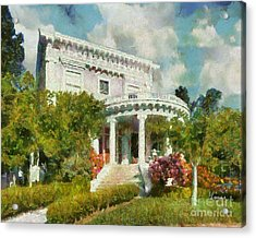 Alameda 1896-97 Colonial Revival Acrylic Print
