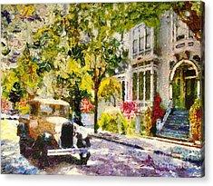 Alameda  Afternoon Drive Acrylic Print