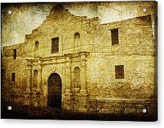 Alamo Remembered Acrylic Print