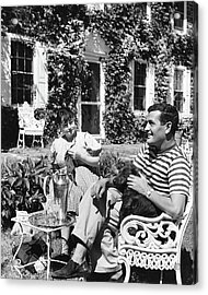Alan Campbell And Dorothy Parker Acrylic Print
