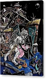 Alas De Tango - Musica Leon Gieco - Contemporary Art Venice Acrylic Print by Arte Venezia