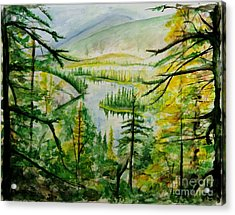 Alaska Dreamin' Acrylic Print by Bev Arnold
