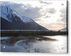 Alaska Highway Acrylic Print