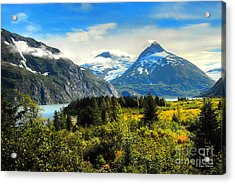 Acrylic Print featuring the photograph Alaska In All Her Glory by Dyle   Warren