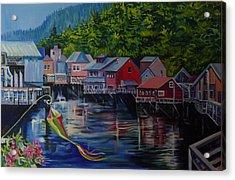 Alaska. Ketchikan Acrylic Print