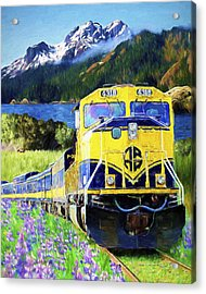 Alaska Railroad Acrylic Print