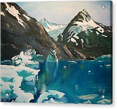 Alaska Reflections Acrylic Print by Sharon Duguay