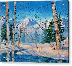 Alaska Winter Acrylic Print
