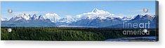 Alaskan Denali Mountain Range Acrylic Print