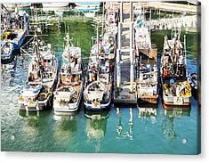 Alaskan Fishing Village Acrylic Print