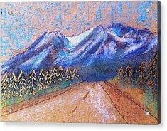 Alaskan Highway Acrylic Print