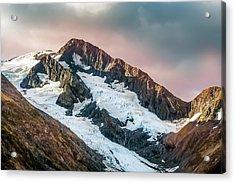 Alaskan Mountain Glacier Acrylic Print