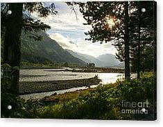 Alaskan Valley Acrylic Print