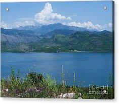 Albania From Lake Skadar Acrylic Print