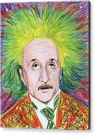 Albert Einstein Acrylic Print by Yoshiko Mishina
