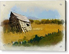 Alberta Landscape 6 Acrylic Print by Mahnoor Shah