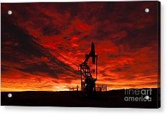 Alberta Sunrise Acrylic Print