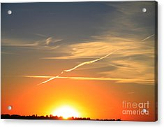 Alberta Sunset Acrylic Print