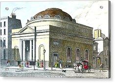 Albion Chapel Moorgate Acrylic Print