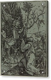Albrecht Dürer German, 1471 - 1528, Joachim And The Angel Acrylic Print by Quint Lox