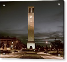 Albritton Bell Tower Acrylic Print