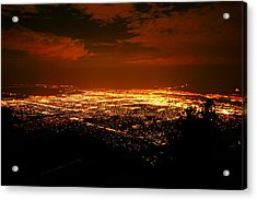 Albuquerque New Mexico  Acrylic Print by Jeff Swan