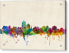 Albuquerque New Mexico Skyline Acrylic Print