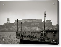 Acrylic Print featuring the photograph Alcatraz by Alex King