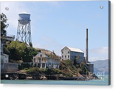 Acrylic Print featuring the photograph Alcatraz by George Mount