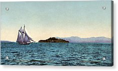 Alcatraz Island, C1900 Acrylic Print