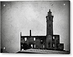 Alcatraz Island Lighthouse Acrylic Print by RicardMN Photography