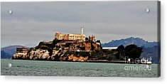 Alcatraz Island - The Rock Acrylic Print
