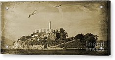 Alcatraz San Francisco Acrylic Print by John Malone