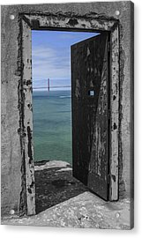 Alcatraz -the Rock Acrylic Print