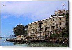 Alcatraz  Building 64 Acrylic Print by Viktor Savchenko